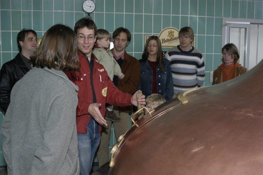 Brauerei-Besichtigung im Sudhaus 2005